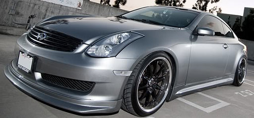 KBD IL Spec Style Front Lip (Poly) - Infiniti G35 Coupe Sport - Outcast Garage
