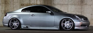 VIS Racing G-Style Fiberglass Side Skirts - G35 Coupe