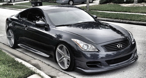 TS-Style Polyurethane Front Lip - G37/Q60 Coupe