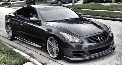 Top Secret Style / TS-Style Front Lip (Polyurethane) - Infiniti G37 Coupe - Outcast Garage