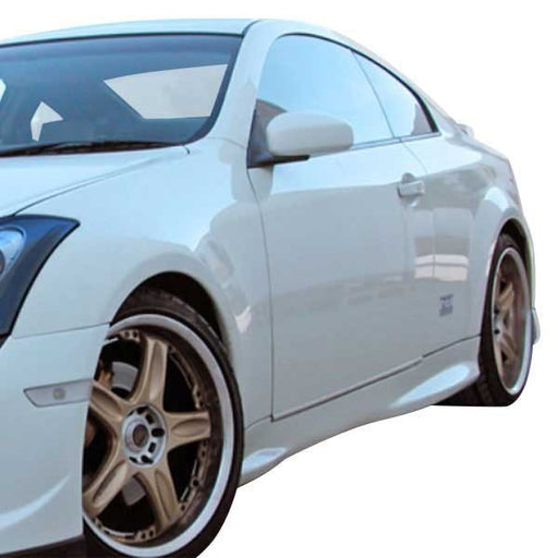 AIT Racing GTR-Style Side Skirts (Fiberglass) - Infiniti G35 Coupe - Outcast Garage