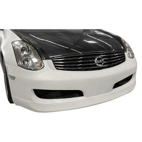 AIT Racing ING-Style Front Bumper (FRP) - Infiniti G35 Coupe