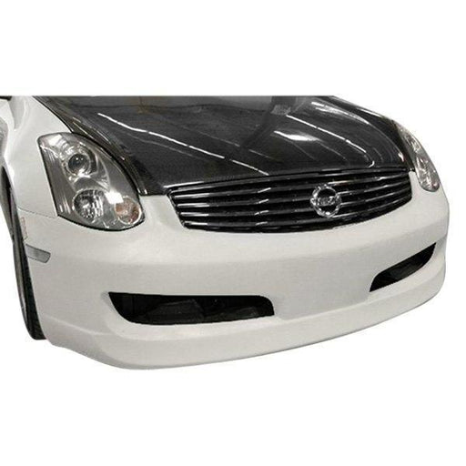 AIT Racing ING-Style Front Bumper (Fiberglass) - Infiniti G35 Coupe - Outcast Garage