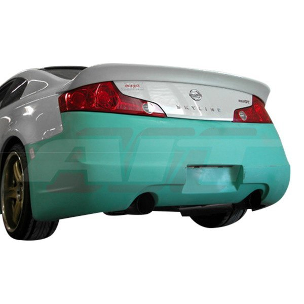 AIT Racing Spec-I Rear Bumper (Fiberglass) - Infiniti G35 Coupe - Outcast Garage