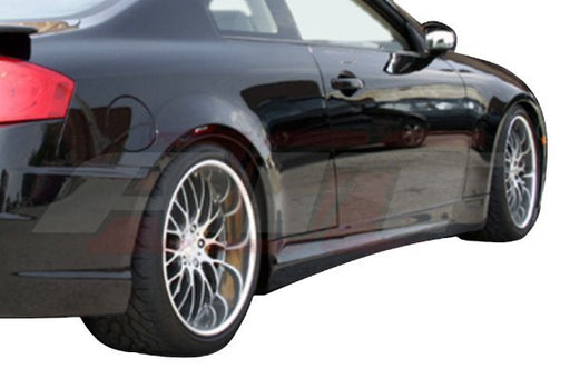 AIT Racing Spec-K Side Skirts (Fiberglass) - Infiniti G35 Coupe - Outcast Garage