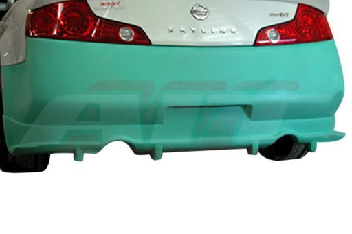 AIT Racing VS / Veilside-Style Rear Bumper (Fiberglass) - Infiniti G35 Coupe - Outcast Garage