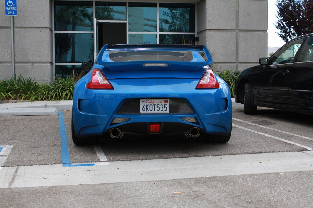 Shine Auto Spec A Rear Bumper - 370Z - Outcast Garage