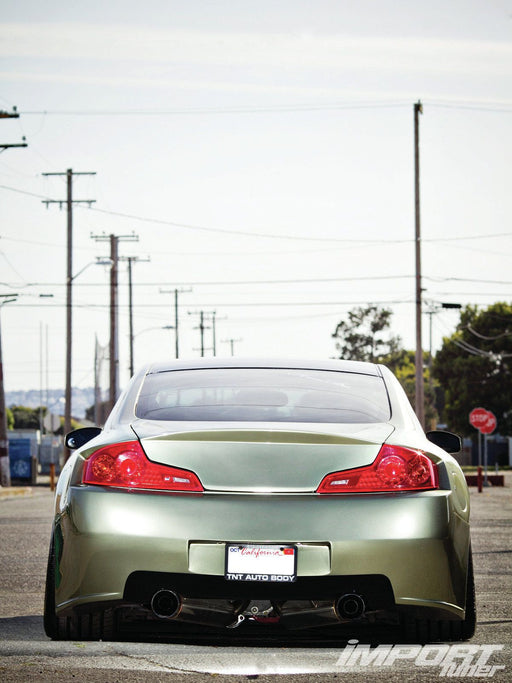 2E Sports APR-Style WideBody Kit - Infiniti G35 Coupe - Outcast Garage