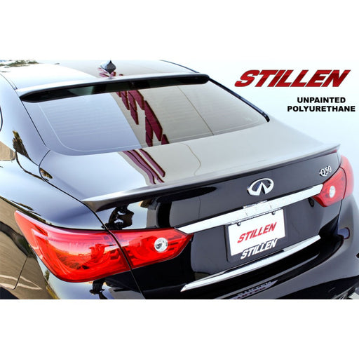 Stillen Rear Trunk Spoiler - Q50 - Outcast Garage