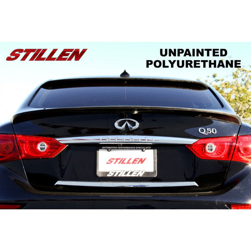 Stillen Roof Spoiler - Q50 - Outcast Garage
