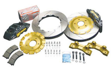 AP Racing 6-Piston Front Track Full Floating Big Brake Kit - Nissan 350Z / Infiniti G35