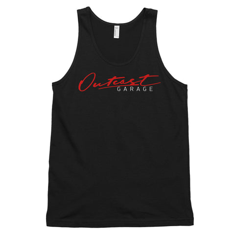 Outcast Garage Classic Tank Top (Unisex) - Black