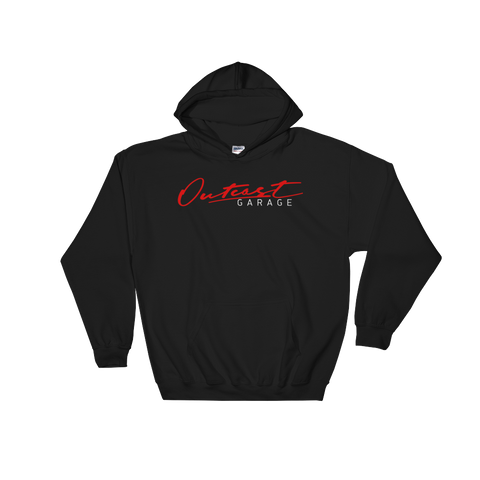 Outcast Garage Hooded Sweatshirt - Black