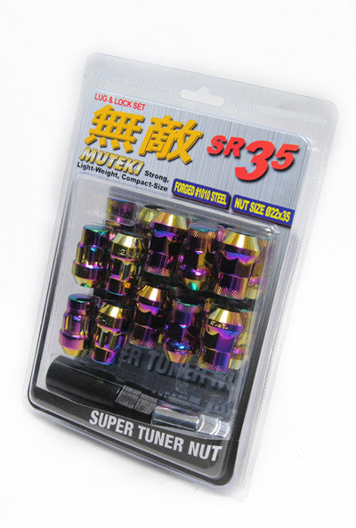 Muteki Neo SR35 Closed Ended Lug Nuts - Outcast Garage
