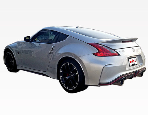 VIS Racing Techno-R / Nismo-Style Side Skirts (Fiberglass) - Nissan 370Z - Outcast Garage