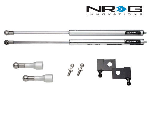 NRG Hood Dampers - G35 Coupe - Outcast Garage