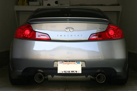 Nismo Replica Rear Diffuser (Poly) - Infiniti G35 Coupe