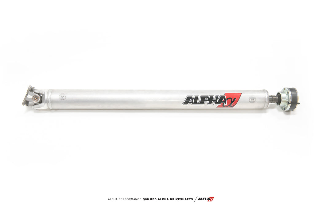 AMS Red Alpha Driveshaft by Driveshaft Shop (Carbon Fiber / Aluminum) - Infiniti Q50 / Q60 (AWD) - Outcast Garage