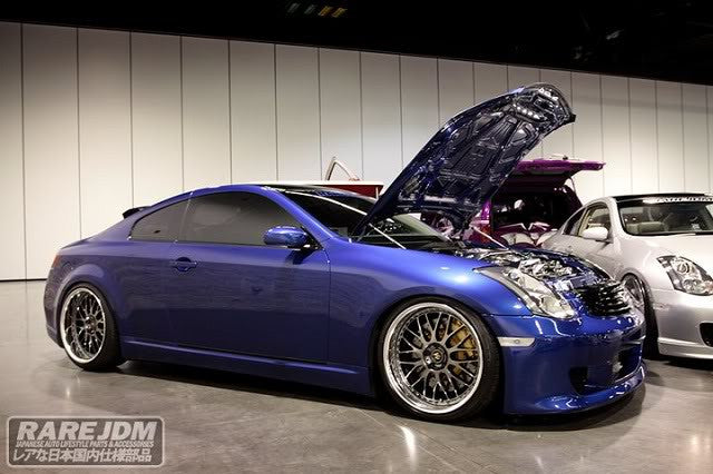 KBD ING-Style / INGs Replica Side Skirts (Poly) - Infiniti G35 Coupe - Outcast Garage