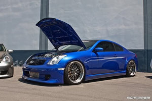 ING-Style Poly Side Skirts -G35 Coupe