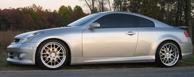 VIS Racing K-Speed Side Skirts (Fiberglass) - Infiniti G35 Coupe - Outcast Garage