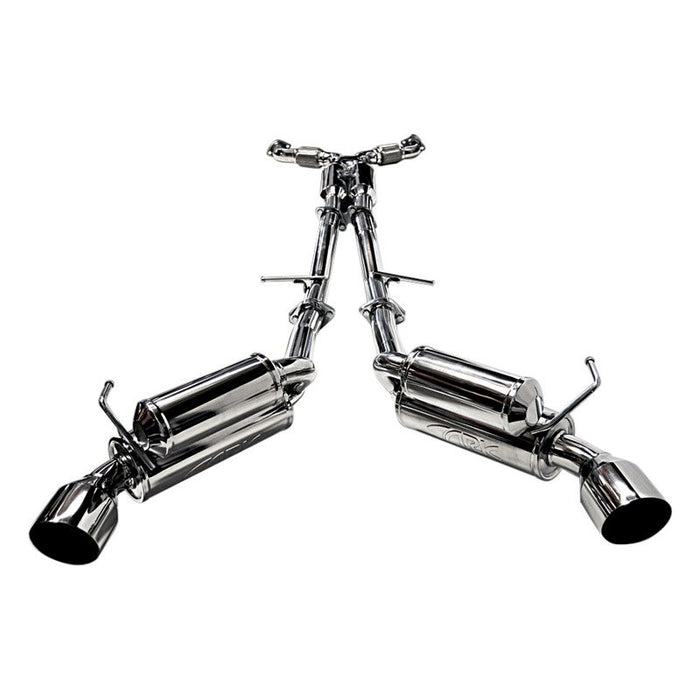ARK Performance GRiP Exhaust System (Polished Tips) - Infiniti G37 / Q60 Coupe RWD (08-15) - Outcast Garage