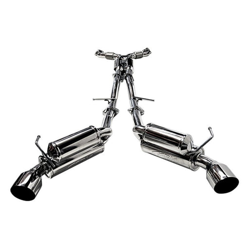 ARK Performance GRiP Exhaust System (Polished Tips) - Infiniti G37x / Q60 Coupe AWD (08-15) - Outcast Garage