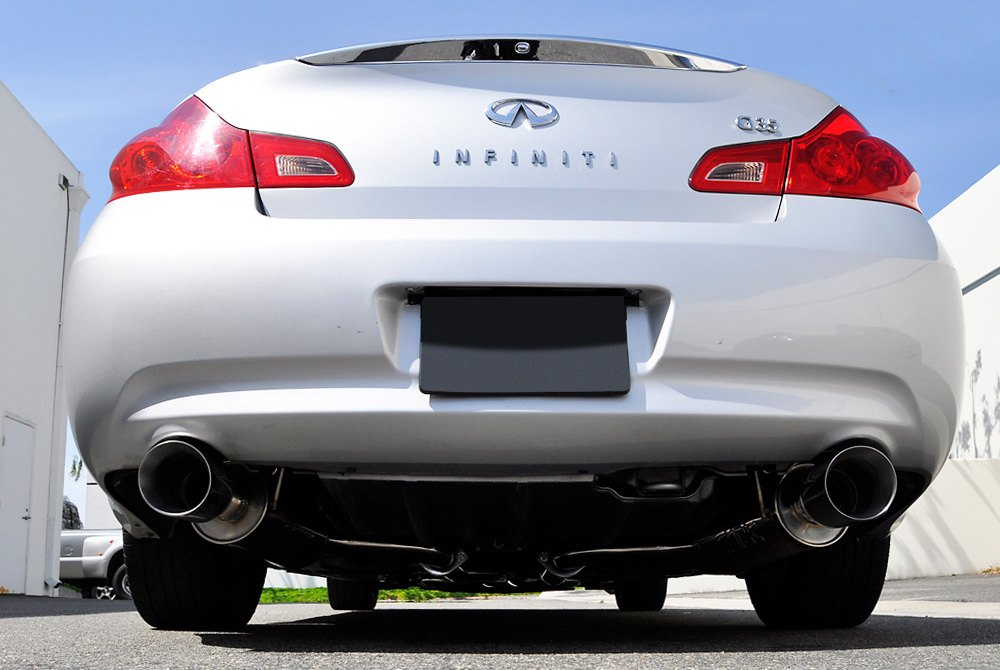 ARK Performance GRiP Exhaust System (Polished Tips) - Infiniti G35 / G37 / Q40 Sedan AWD / RWD (07-15) - Outcast Garage