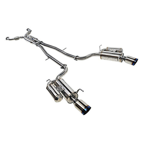 ARK Performance GRiP Exhaust System (Burnt Tips) - Infiniti G35 / G37 / Q40 Sedan AWD / RWD (07-15) - Outcast Garage