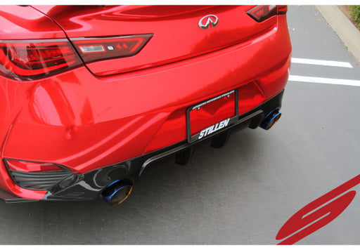 Stillen Stainless Steel Cat-Back Exhaust System (Burnt Tips) - Infiniti Q60 2017+ 3.0TT