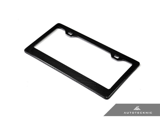 AutoTecknic Dry Carbon License Plate Frame - US Fitment - Outcast Garage
