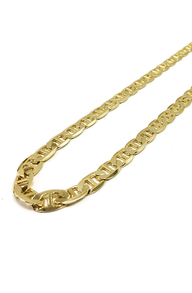 12mm 14k gold plated Italian Chain