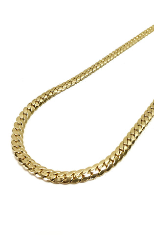 12mm 14k Gold Plated Miami Curb Chain