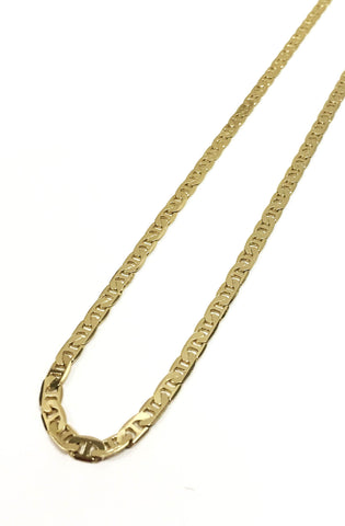 6mm 14k Gold Plated Italian Chain