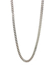 Franco Chain Choker in Silver