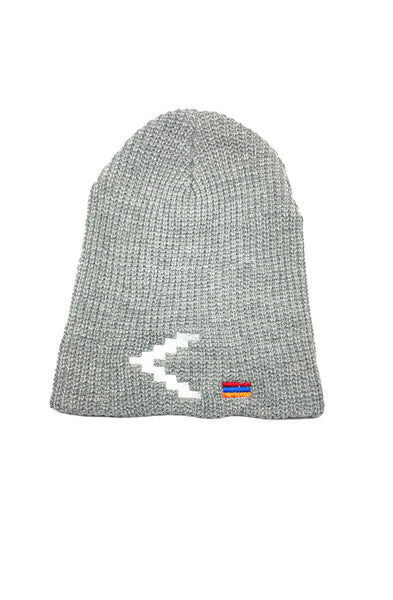 Light Gray Loose Knit Beanie