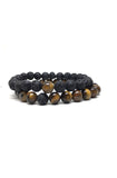 Lava Rock and Tiger Eye Piece of Me Set