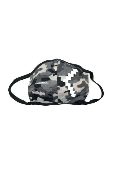 Grayscale Camo Armenia//Artsakh Facemask