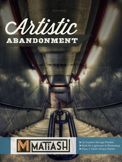 Artistic Abandonment Presets for Adobe Lightroom and Photoshop