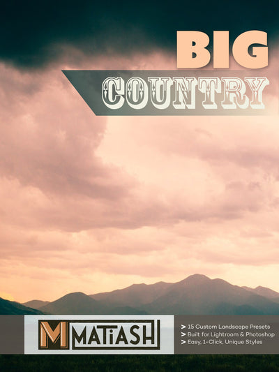 Big Country Presets for Adobe Lightroom