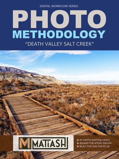 Photo Methodology - Death Valley Salt Creek