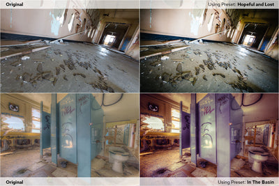 Artistic Abandonment Preset Pack