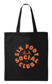 Six Foot Social Club Tote Bag