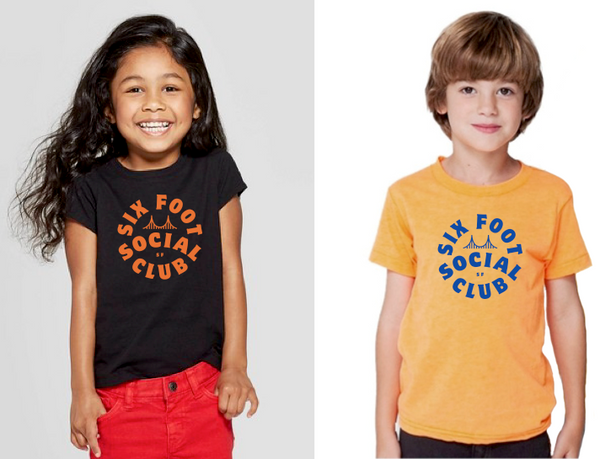 Kids Six Foot Social Club T-Shirt