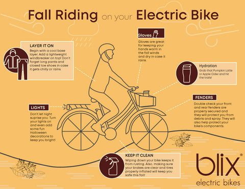 Blix eBikes Riding Guide Fall