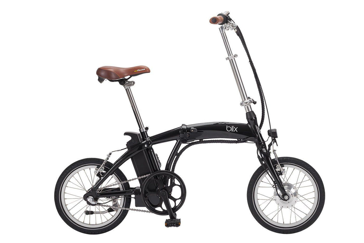 38e327ede0a Vika Travel Electric Folding Compact Bike - Blix Electric Bikes