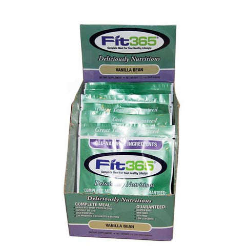 FIT 365 Vanilla Bean Single Serving Packets (Box of 7)