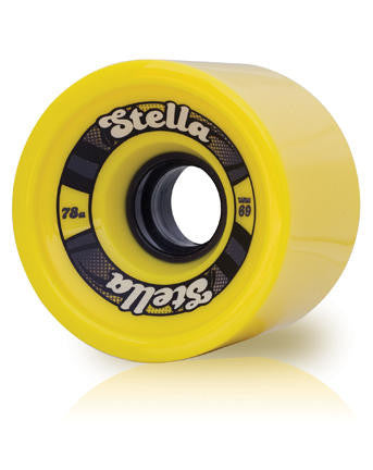Stella 69mm Wheel Yellow