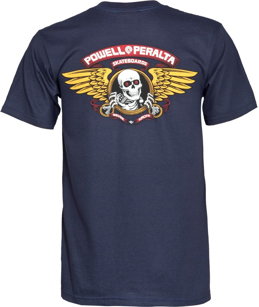 Powell Peralta Wing Ripper Navy T-Shirt