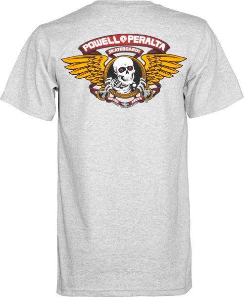 Powell Peralta Wing Ripper Gray T-Shirt